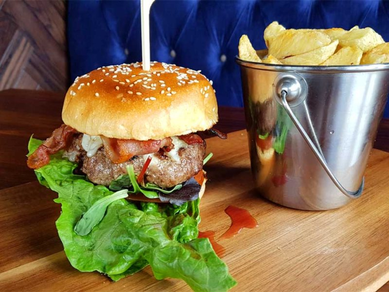Kilburn Arms Burger
